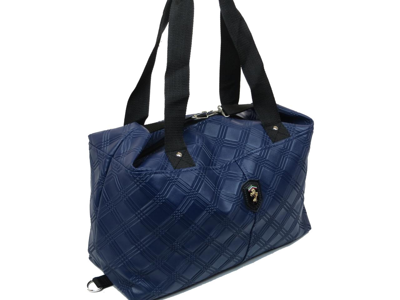 73863a502c1c Женская сумка из эко кожи Wallaby 57157 синий - SUPERSUMKA интернет магазин  в Киеве