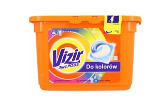 Капсулы для стирки Vizir Go Pods Color  41 шт