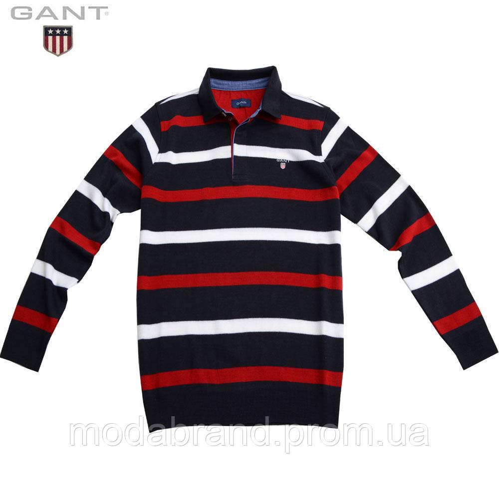 b452fc57554 Свитер мужской на пуговицах.Новая коллекция свитеров Gant. -