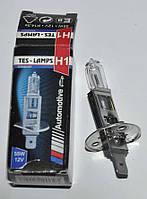 Лампа H1 12V 55W галогенная штыревая (Tes-lamps)