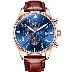 Мужские часы Carnival 8701 Коричневые