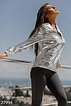 Легкая блестящая ветровка-худи, фото 2