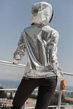 Легкая блестящая ветровка-худи, фото 4