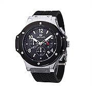 Часы Megir MG3002G Black (MN3002GBK-1)