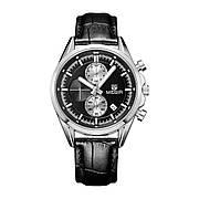 Часы Megir Silver/Black MG5005 (ML5005GBK-1)