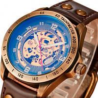 Мужские часы Winner 1157 Коричневые