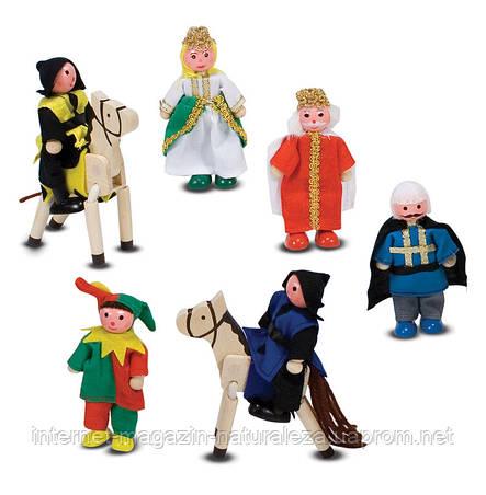 Деревянные фигурки для рыцарского замка Melissa&Doug, фото 2
