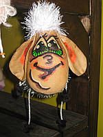 Овечка Игрушка подвесная Сувенир Цвета разные, фото 1