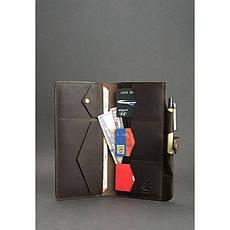 Кожаный тревел-кейс 4.0 темно-коричневый, фото 2