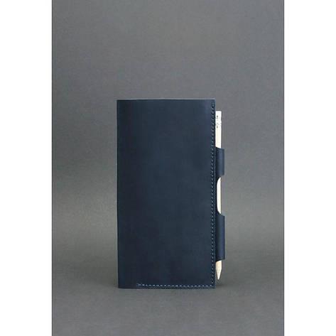 Кожаный тревел-кейс 3.0 синий, фото 2