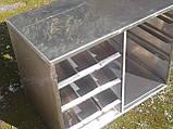 Прилавок для столовых приборов и подносов б у, ячейки для столовых приборов на линию раздачи б/у, фото 5