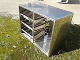 Прилавок для столовых приборов и подносов б у, ячейки для столовых приборов на линию раздачи б/у, фото 2