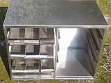 Прилавок для столовых приборов и подносов б у, ячейки для столовых приборов на линию раздачи б/у, фото 6