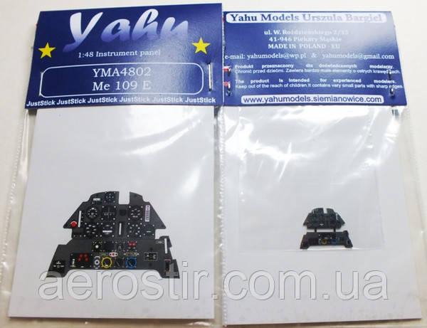 Me 109 E Eduard 1/48 Yahu Models A4802