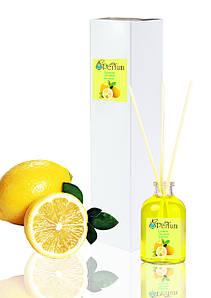 Аромат для дома офиса ресторана лимон 50 мл бамбуковый аромадиффузор свежий аромат