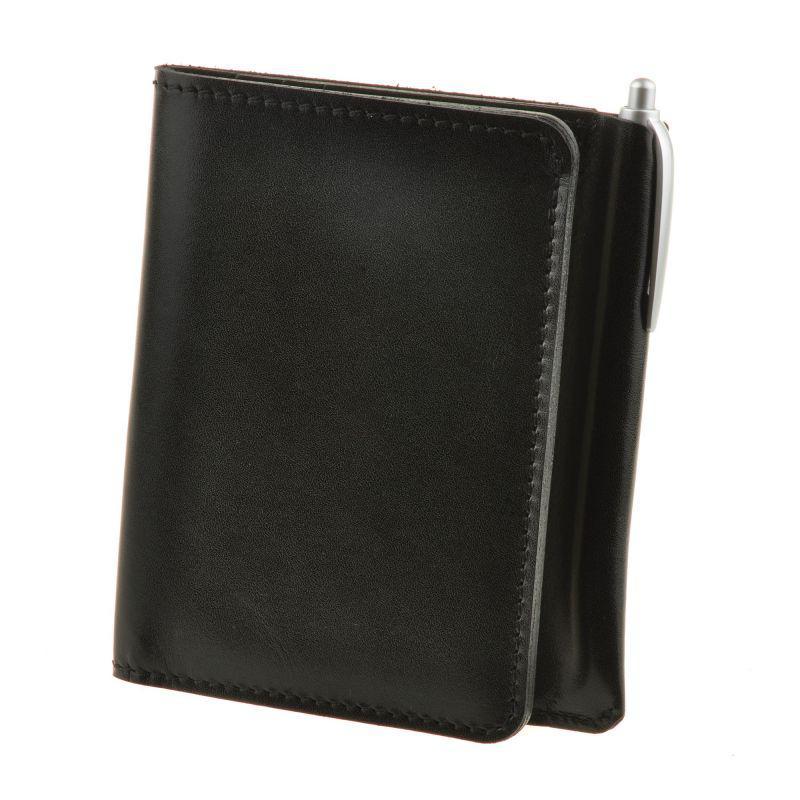 Кожаное портмоне 2.0 угольно-черное