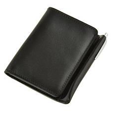 Кожаное портмоне 2.0 угольно-черное, фото 3