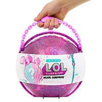 ОРИГИНАЛ! Игровой набор с куклой Лол жемчужный большой / L.O.L. Surprise! Pearl Surprise Purple