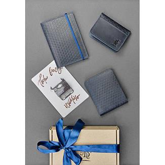 Мужской подарочный набор кожаных аксессуаров Ливерпуль, фото 2