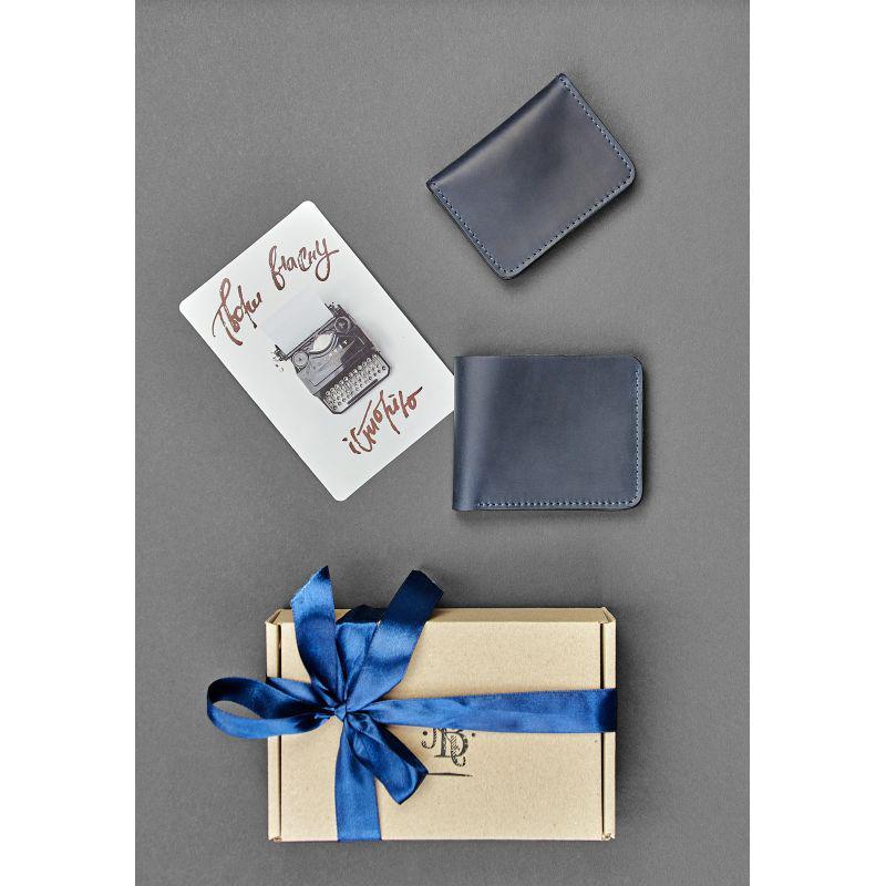 Мужской подарочный набор кожаных аксессуаров Гамбург