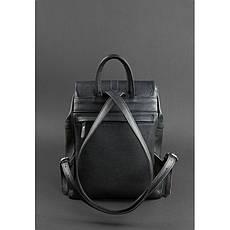 Кожаный женский рюкзак Олсен черный, фото 2
