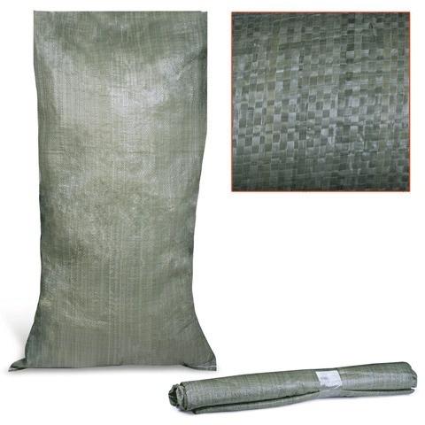 Мешок полипропиленовый зеленый - 95 х 55 (50 кг)