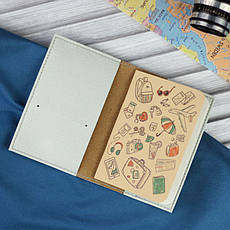 Обложка для паспорта Hipster goat + блокнотик, фото 2