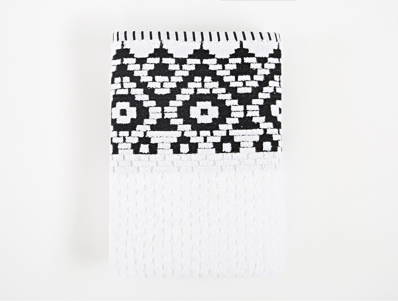 Полотенце Irya Jakarli - New Wall beyaz белый 70*130