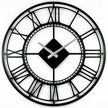 Часы большие настенные 50 см Glozis London B-017 (черные или белые)