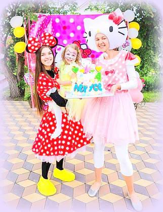 Аниматоры Мини Маус и Микки Маус на День рождения и детские праздники,Киев.