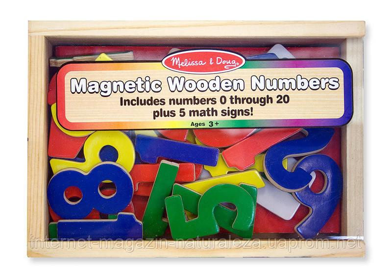 Магнитные деревянные цифры Melissa&Doug