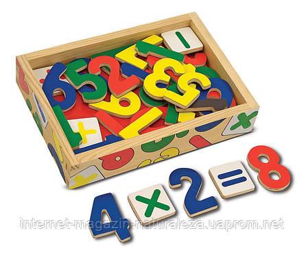 Магнитные деревянные цифры Melissa&Doug , фото 2