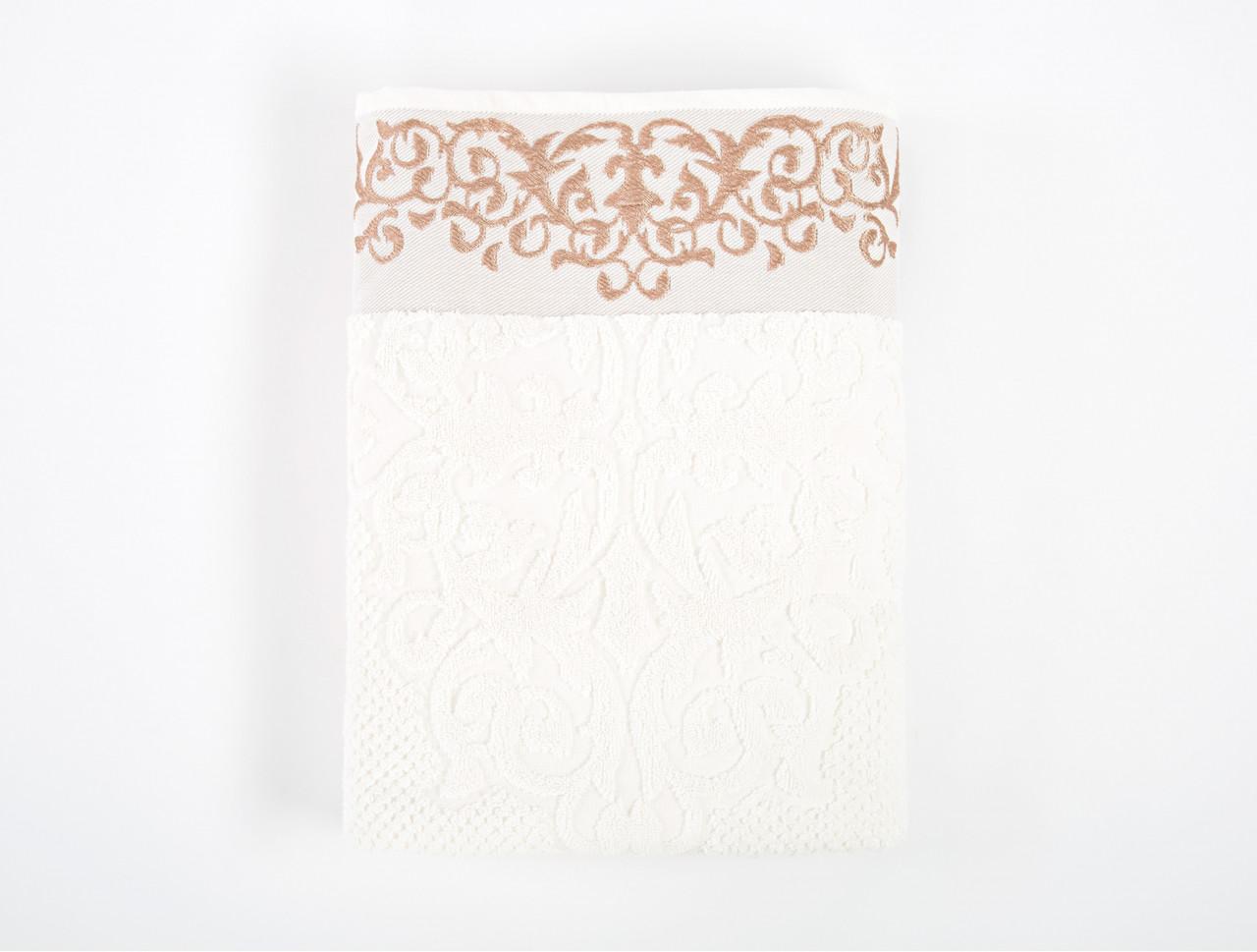 Полотенце Irya Jakarli - New Queen ekru молочный 70*130