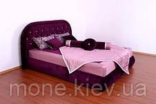 """Кровать """"Виолета"""" с мягким изголовьем и подъемным механизмом  двуспальная, фото 2"""