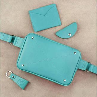 Женский подарочный набор кожаных аксессуаров DropBag Тиффани, фото 2