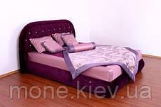 """Кровать """"Виолета"""" с мягким изголовьем и подъемным механизмом  двуспальная, фото 3"""