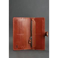 Кожаное женское портмоне 7.0 светло-коричневое, фото 2