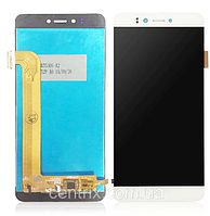Дисплей (экран) для Prestigio MultiPhone PSP3530 Muze D3/3531 Muze E3/7530 Muze A7 + тачскрин, белый