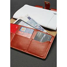 Шкіряний блокнот (Софт-бук) 4.0 світло-коричневий, фото 3