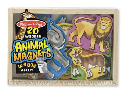 Магнитный набор Melissa&Doug Животные, фото 2