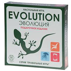 Настольная игра Эволюция подарочная Правильные игры