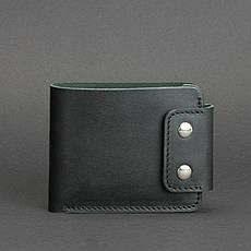 Мужское кожаное портмоне Zeus 9.0 черное, фото 3
