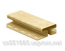 Н-Планка соединительная 3,05м. для сайдинга (Timberblock) Ю-пласт
