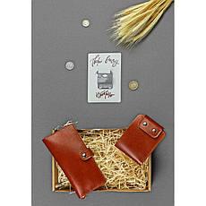 Подарочный набор кожаных аксессуаров Иль-де-франс, фото 3