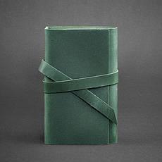Кожаный блокнот (Софт-бук) 1.0 зеленый, фото 2