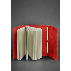 Женский кожаный блокнот (Софт-бук) 1.0 коралловый, фото 2