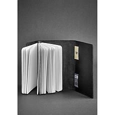 Кожаный блокнот (Софт-бук) 2.0 черный, фото 2
