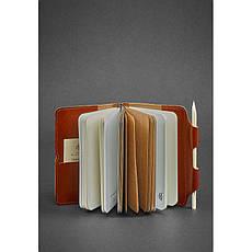Кожаный блокнот (Софт-бук) 3.0 светло-коричневый, фото 2