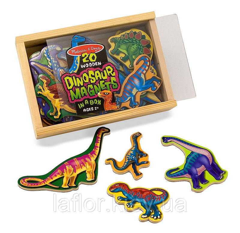 Магнитный набор Melissa&Doug Динозавры
