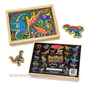 Магнитный набор Melissa&Doug Динозавры, фото 2